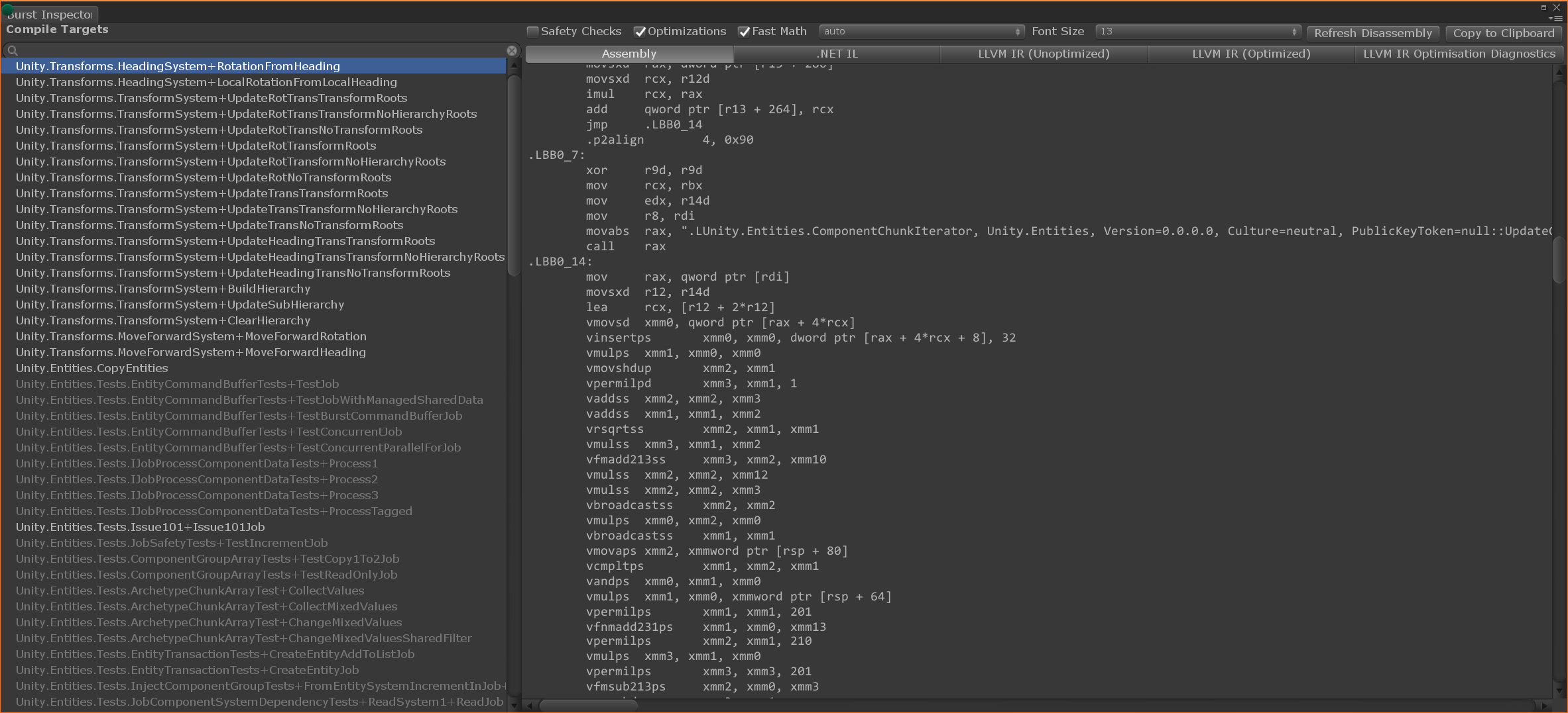 C++, C# and Unity